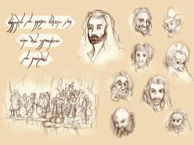 sketch hobbit 3